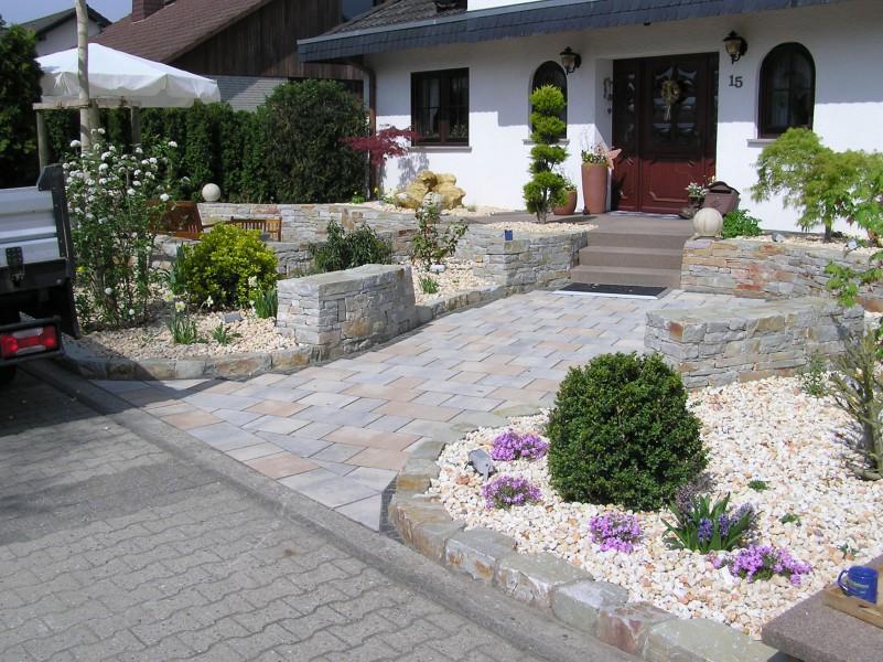 garten und landschaftsbau vorher nachher – reimplica, Gartenarbeit ideen