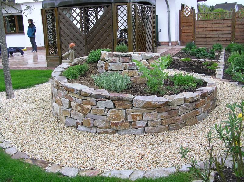 Gartengestaltung terrasse